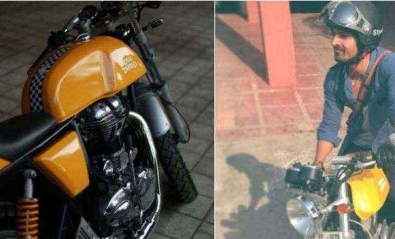 بھارتی اداکار نے آکسیجن بنانے کی مشین کے لئے اپنی موٹرسائیکل عطیہ کردی