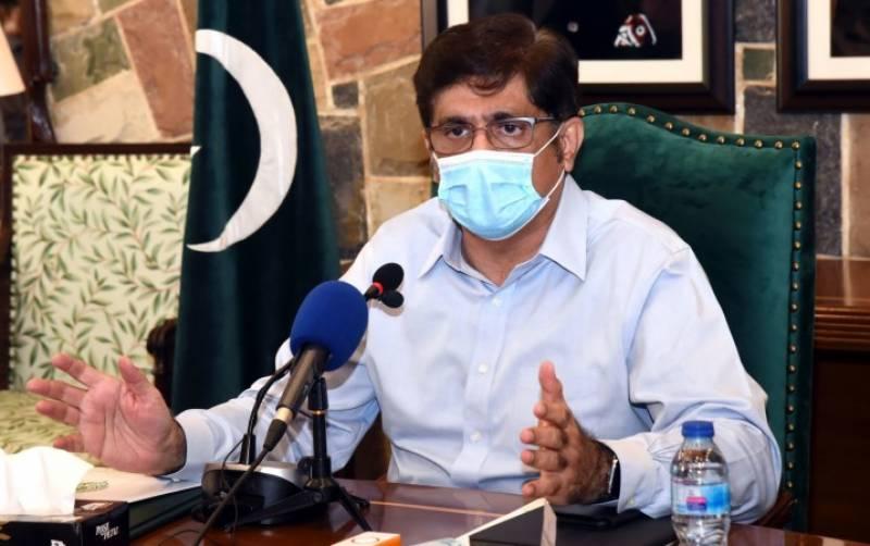 وزیراعلیٰ سندھ کی پولیس کو کورونا ایس او پیز پر سختی سے عملدرآمد کی کرانے کی ہدایت