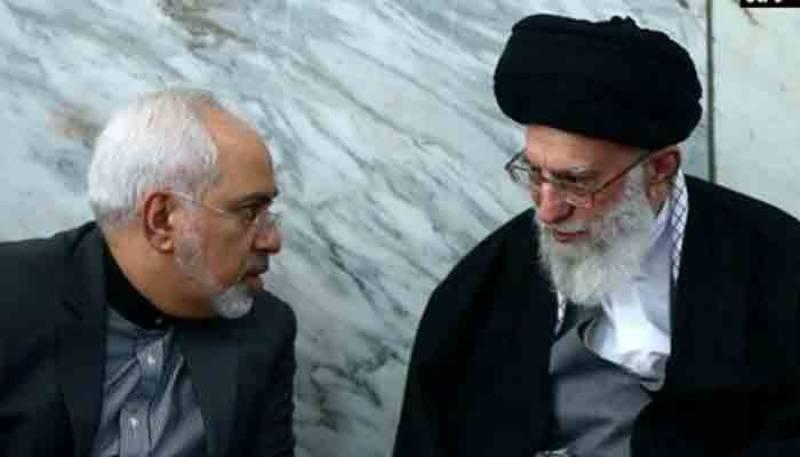 جواد ظریف کی پاسداران انقلاب پر تنقید سے آیت اللہ خامنہ ای ناراض