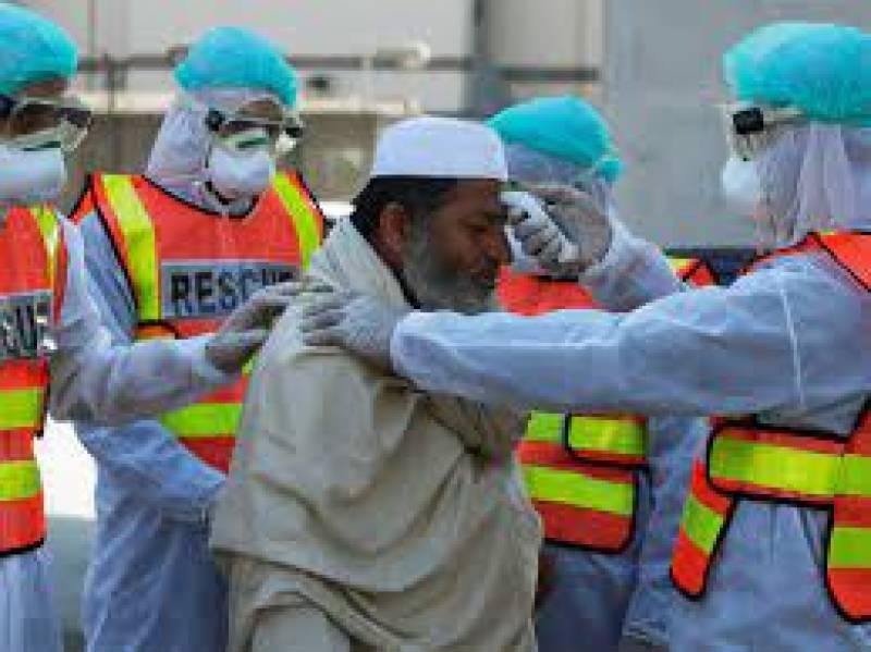 کورونا وائرس سے پاکستان میں مزید 161 شہری جاں بحق