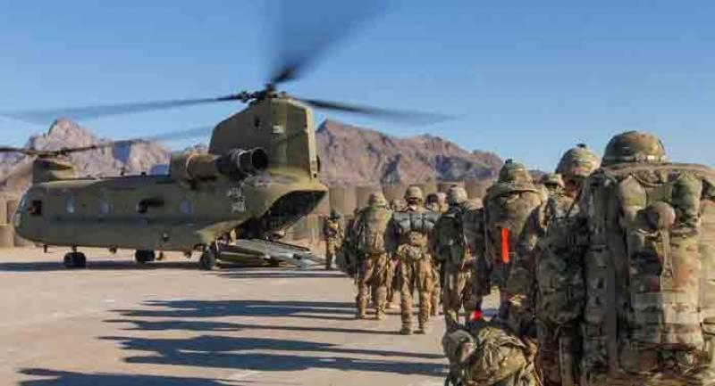 افغانستان سے امریکی افواج کے سازو سامان کی منتقلی کا سلسلہ جاری