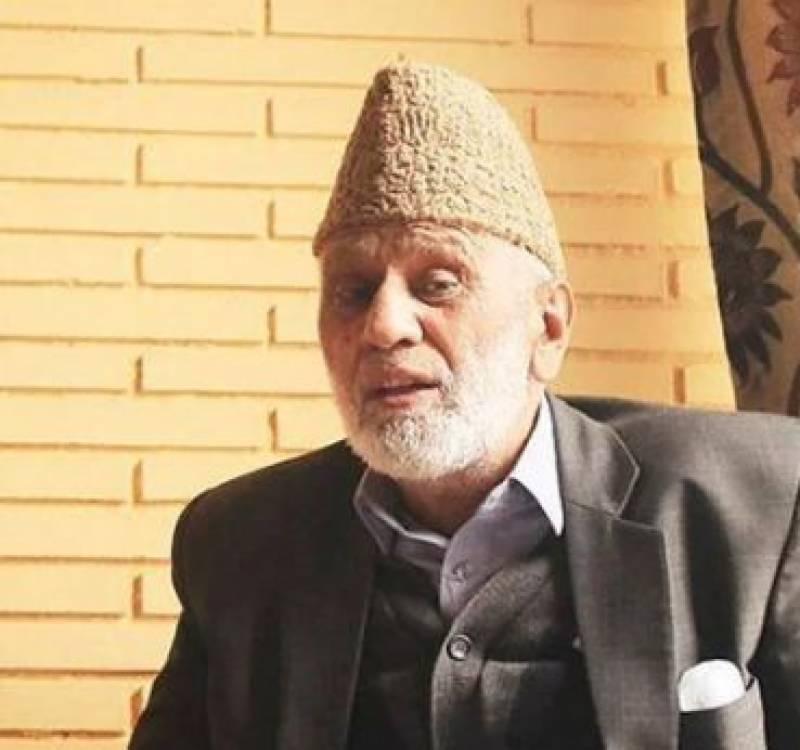 چیئرمین تحریک حریت محمد اشرف صحرائی انتقال کر گئے