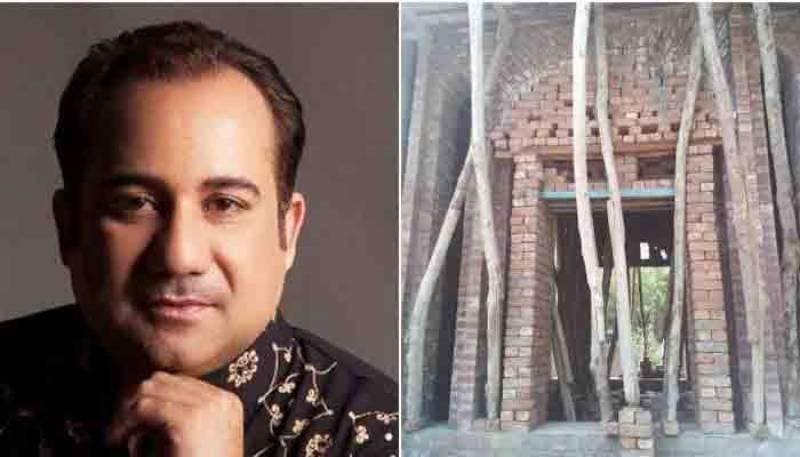 نصرت فتح علی خان کے مقبرے کی تعمیر حکومتی خرچ سے نہیں ہو رہی، راحت فتح علی