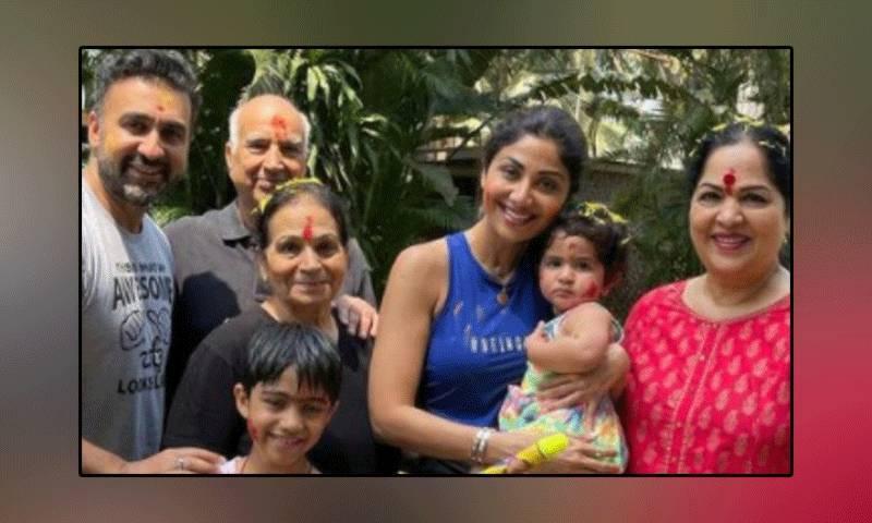 بالی ووڈ اداکارہ شلپا شیٹھی کا پورا خاندان کورونا وائرس میں مبتلا ہوگیا