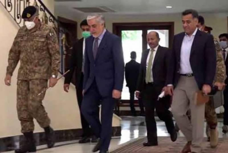پر امن افغانستان کا مطلب پر امن خطہ بالخصوص پر امن پاکستان ،آرمی چیف