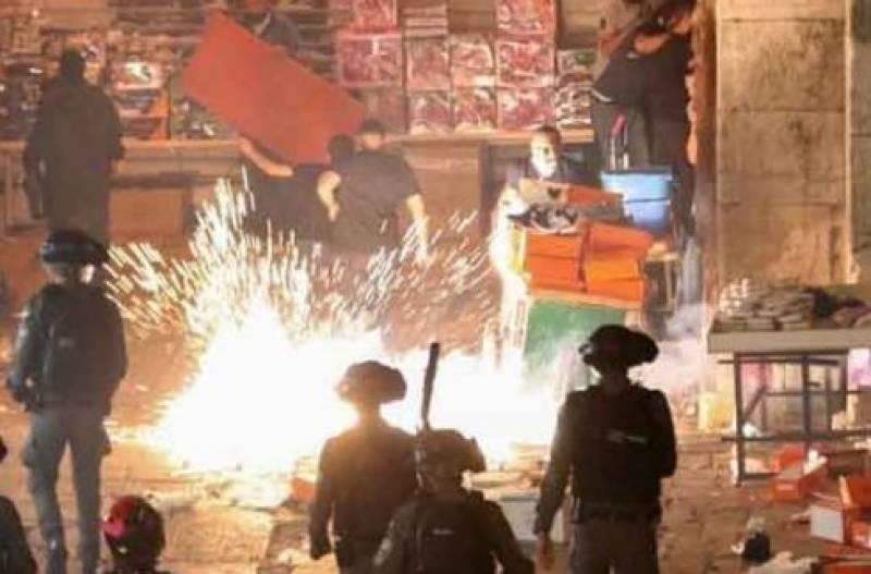 اسرائیلی فوج نے ظلم کی انتہا کردی ، 3 بچوں سمیت 9 فلسطینی شہید