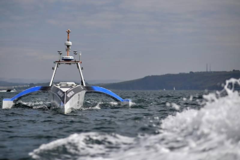 برطانیہ میں خود کار روبوٹ کشتی تیار کر لی گئی