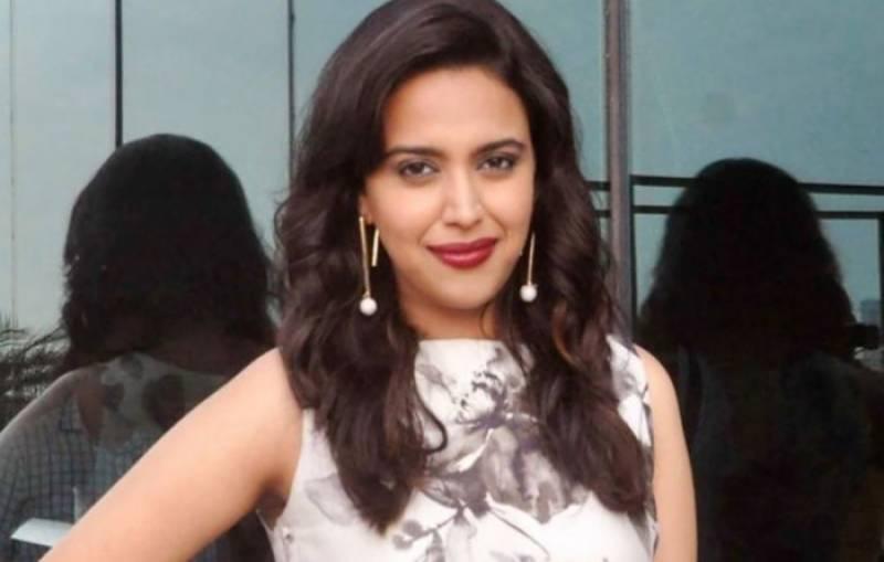 بھارتی اداکارہ سوارا بھاسکر فلسطینیوں کے حق میں ٹویٹ کے بعدٹاپ ٹرینڈ میں شامل