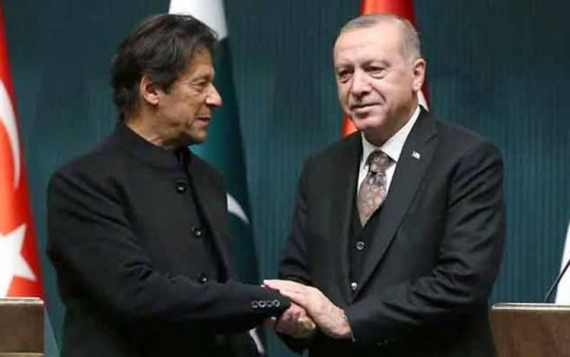 طیب اردوان اور عمران خان کا غزہ پر اسرائیلی حملے روکنے کیلئے اقوام متحدہ میں مل کر کام کرنے پر اتفاق