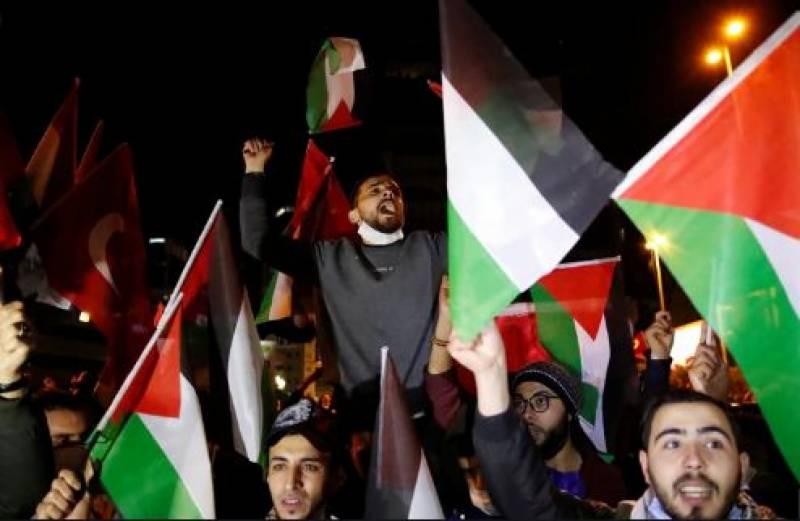دنیا کے مختلف ممالک میں اسرائیل کیخلاف احتجاجی مظاہرے