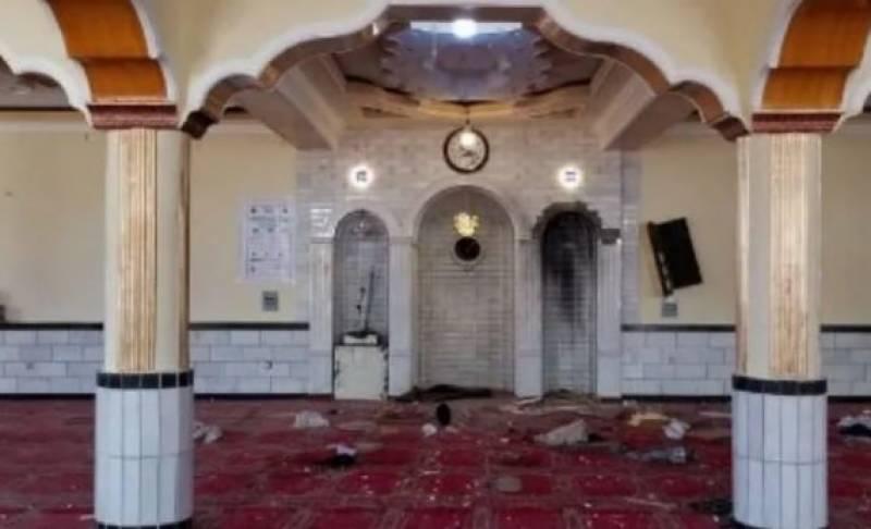 کابل کی مسجد میں نماز جمعہ کی ادائیگی کے دوران بم دھماکہ ،12 نمازی شہید ہوگئے