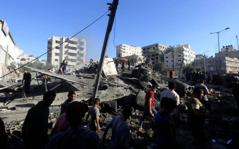 سفاک اسرائیلی فوج کے غزہ پر حملے جاری، 27 بچوں سمیت 122 فلسطینی شہید
