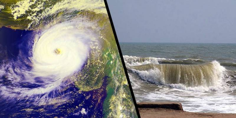 بحیرہ عرب میں سمندری طوفان