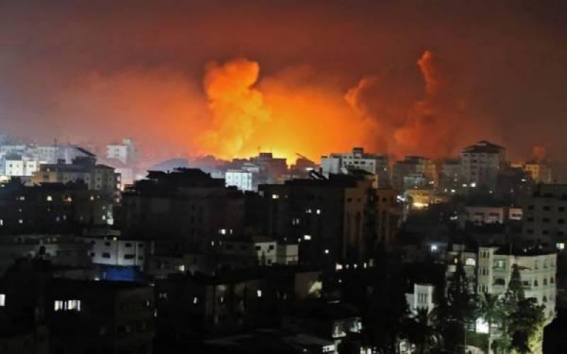 اسرائیلی فوج کے وحشیانہ حملے جاری ، غزہ میں33 ، غرب اردن میں 21 شہید
