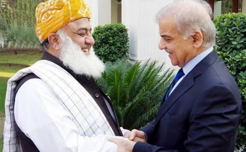 مولانا فضل الرحمان اور شہباز شریف کا رواں ماہ پی ڈی ایم سربراہی اجلاس بلانے پر اتفاق