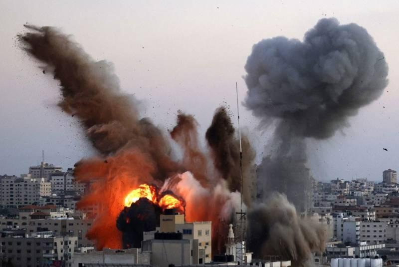 اسرائیلی بمباری سے شہید فلسطینوں کی تعداد 218 ہو گئی