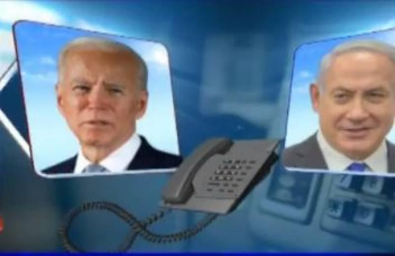 اسرائیلی جنگ پر امریکی صدر کا صبر کا پیمانہ لبریز ہورہا ہے، امریکی میڈیا