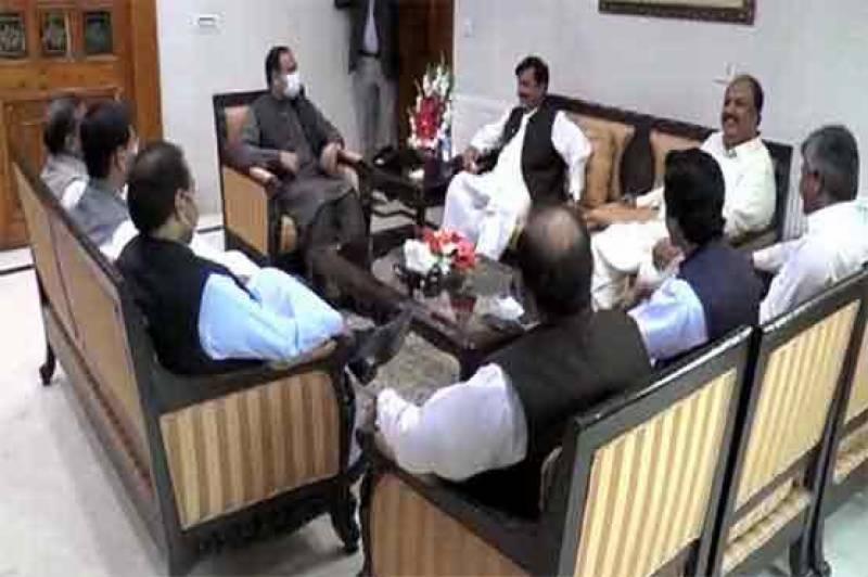 وزیراعلیٰ پنجاب سے جہانگیر ترین گروپ کی ملاقات، عثمان بزدار پر اعتماد کا اظہار