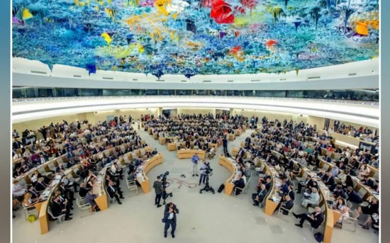 اقوام متحدہ کی ہیومن رائٹس کونسل کے خصوصی اجلاس میں پاکستان کی قرارداد منظور