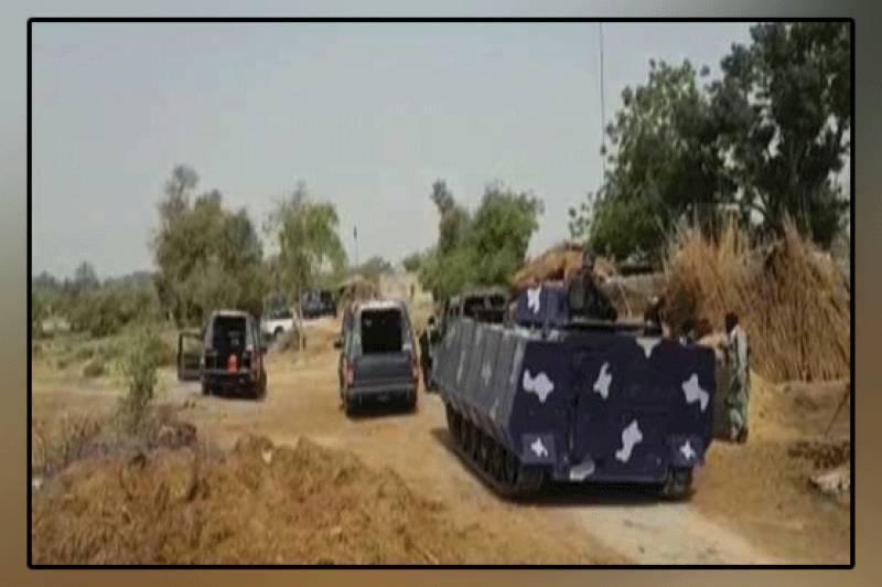 ڈی جی خان میں لادی گینگ کے خلاف آپریشن جاری، گینگسٹر پہاڑوں میں روپوش