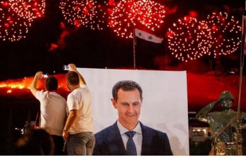 شام کے صدر چوتھی مرتبہ الیکشن جیت گئے