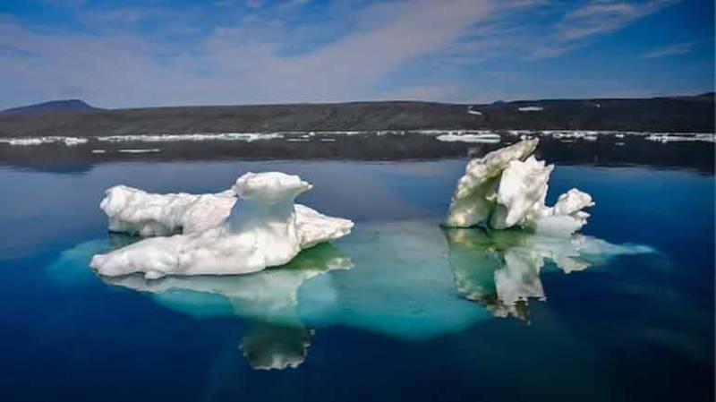 گلوبل وارمنگ کی وجہ سے آئس لینڈ کے گلیشئیرز کو خطرہ