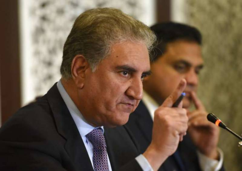 مشیر افغان قومی سلامتی کے بیانات سے دکھ ہوا: شاہ محمود قریشی