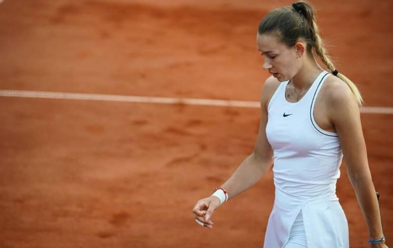 فرنچ اوپن ٹینس میں میچ فکسنگ کے الزام میں روس کی خاتون کھلاڑی گرفتار