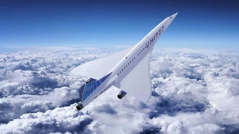 امریکی ایئر لائن کا نئے سپر سونک مسافر طیارے خریدنے کے منصوبے کا اعلان