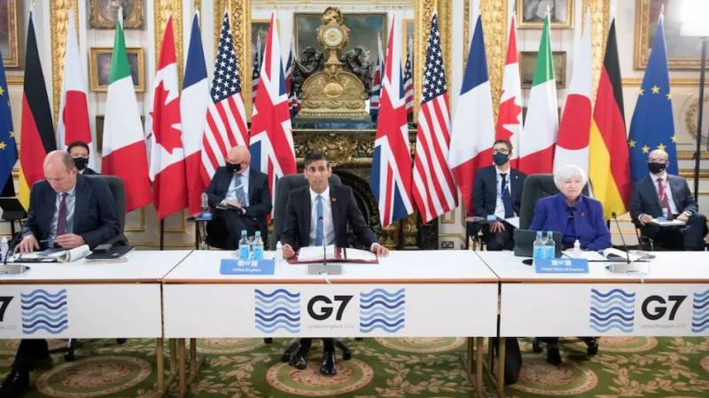 جی-7 ممالک گوگل اور ایمیزون سمیت بڑی کمپنیوں پر ٹیکس لگانے پر متفق