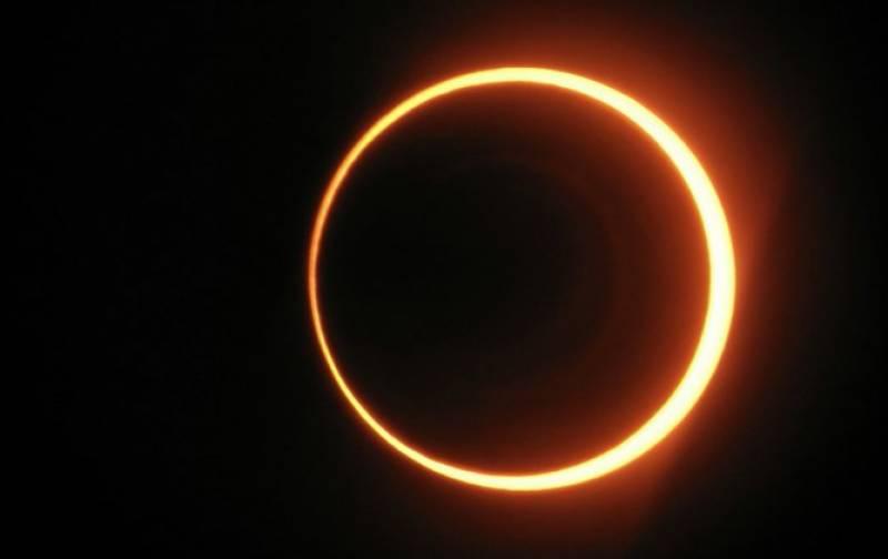 رواں سال کا پہلا سورج گرہن 10 جون کو ہو گا