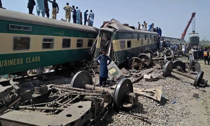 ٹرین حادثہ، ڈی ایس ریلوے سکھر طارق لطیف نے حقائق سے پردہ اٹھا دیا