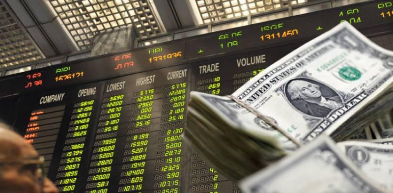 ڈالر کی قدر میں کمی، پاکستان سٹاک مارکیٹ میں بدترین مندی ریکارڈ