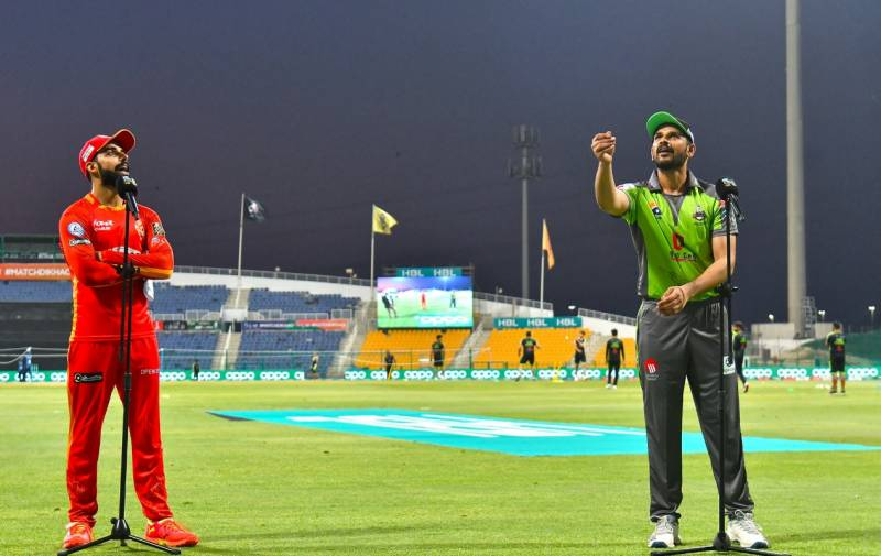 لاہور قلندرز کا اسلام آباد یونائیٹڈ کیخلاف ٹاس جیت کر فیلڈنگ کا فیصلہ
