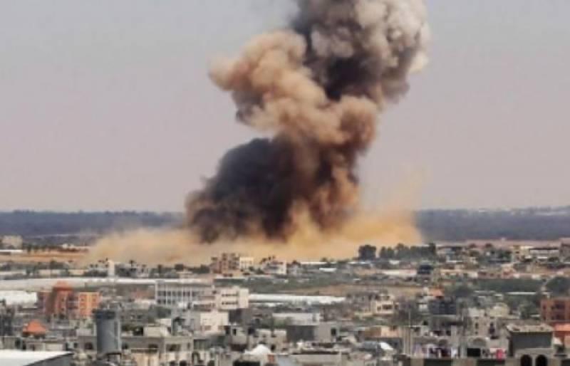 اسرائیلی فوج کا پھر مغربی کنارے پر حملہ ، دو فلسطینی شہید