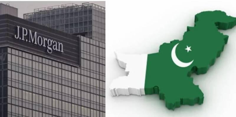پاکستان سرمایہ کاری کے لئے بہترین ملک ہے ، جےپی مورگن