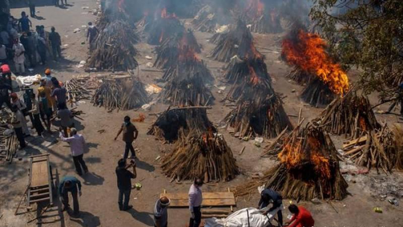 بھارت میں کورونا وائرس سے ایک دن میں ریکارڈ ہلاکتیں