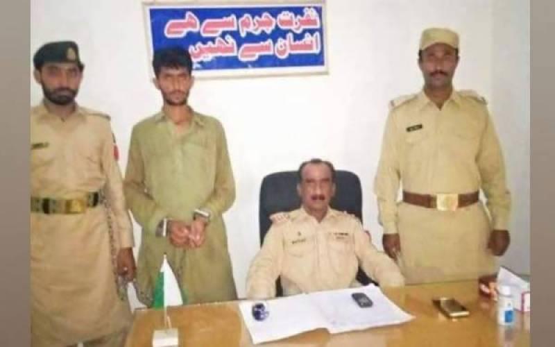 ڈیرہ غازی خان، باڈر ملٹری پولیس نے لادی گینگ کے اہم رکن کو گرفتار کر لیا