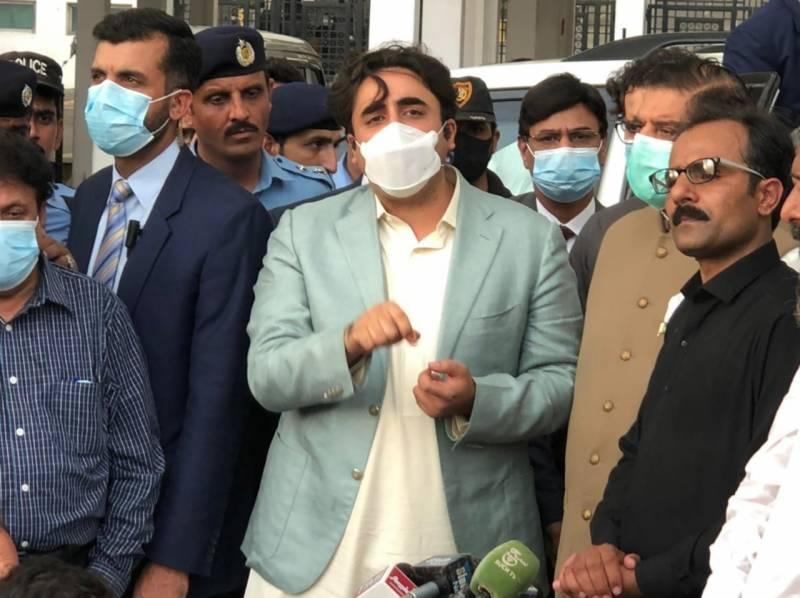 عمران خان کو عوام کے معاشی قتل کی اجازت نہیں دیں گے: بلاول بھٹو
