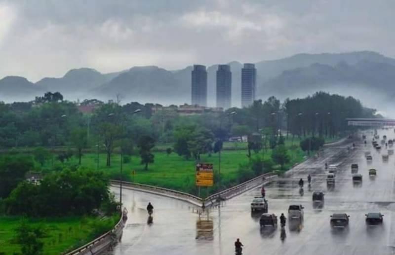 محکمہ موسمیات کی اسلام آباد سمیت ملک کے بعض علاقوں میں بارش کی پیشگوئی