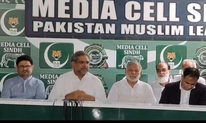 بجٹ سے صرف حکومتی اے ٹی ایمز کو فائدہ پہنچے گا: شاہد خاقان عباسی