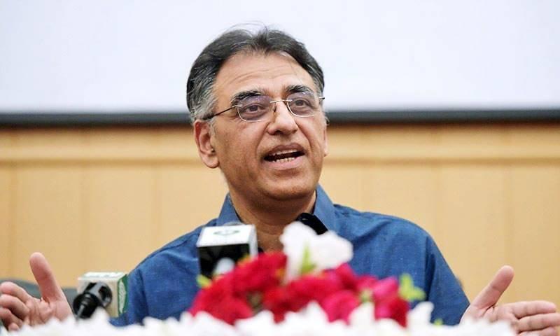 مراد علی شاہ وفاق کے ترقیاتی کاموں سے ناراض ہیں، اسد عمر