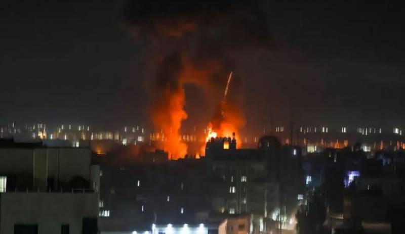 اسرائیلی فوج نے غزہ پر پھر فضائی حملہ کردیا