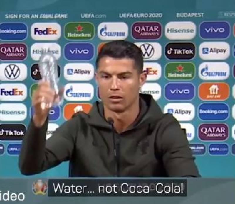 کوکاکولا نہیں پانی ، کمپنی کو اربوں ڈالر کا نقصان ہوگیا
