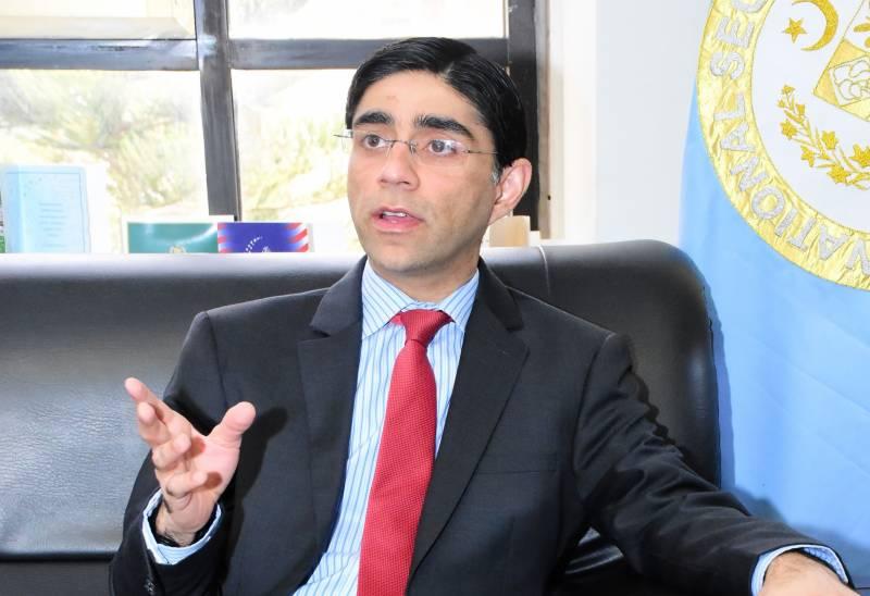 افغان امن مذاکرات کیلئے پاکستان نے بہت محنت کی، ڈاکٹر معید یوسف