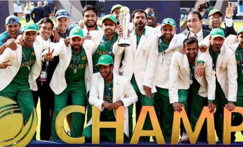 پاکستان کو چیمپیئنز ٹرافی کا چیمپیئن بنے چار سال مکمل ہو گئے