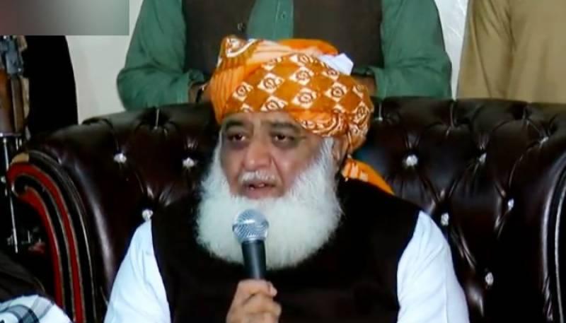 یہودی ایجنڈے کے تحت عمران خان کو اقتدار دیا گیا: فضل الرحمن