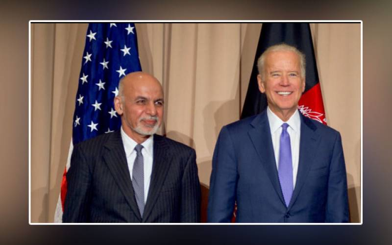 Ashraf Ghani, US President, Joe Biden, White House, Friday