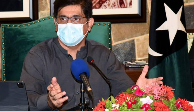 اسد عمر کہتے ہیں 26 ارب کی ویکسین خریدی، پتا نہیں وہ ویکسین کہاں ہے: مراد علی شاہ