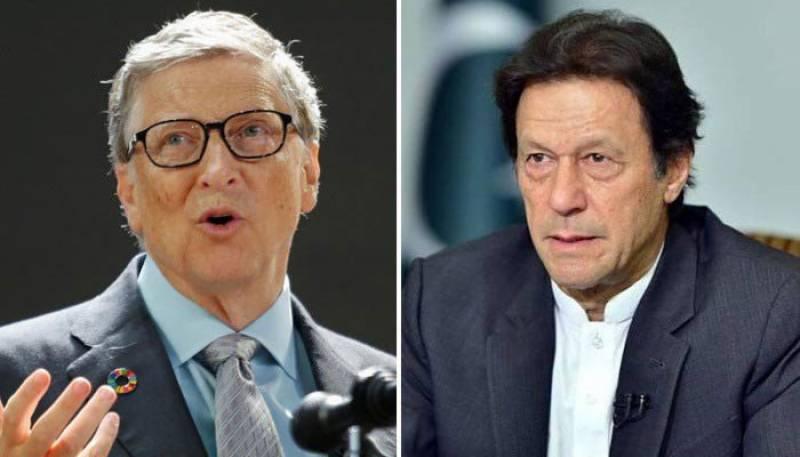 Bill Gates and Imran Khan,